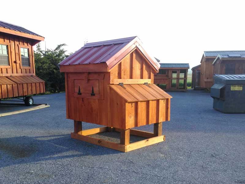 3x4 A-Frame Chicken Coop