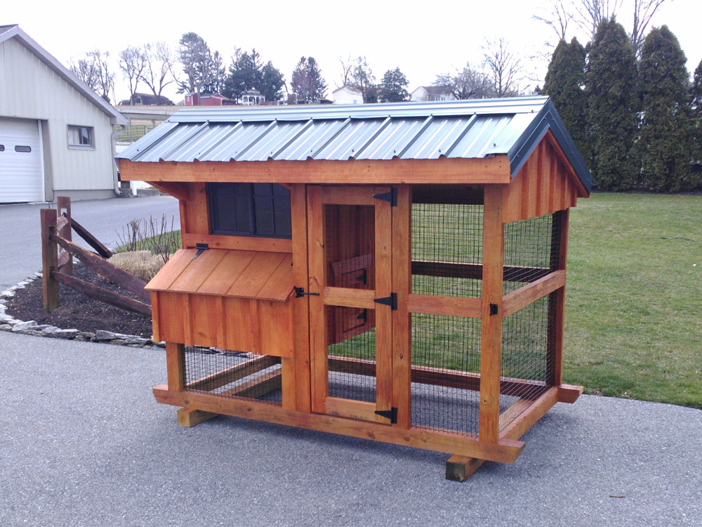4x7 Chicken Coop for sale