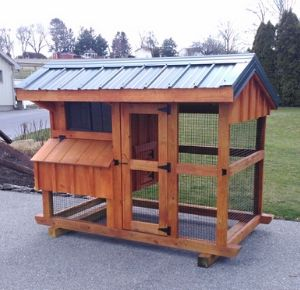 amish built chicken coop for sale in new york