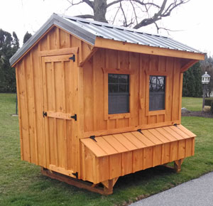 amish built chicken coops for sale in maryland made from wood