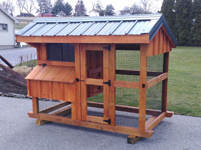 amish chicken coops nj